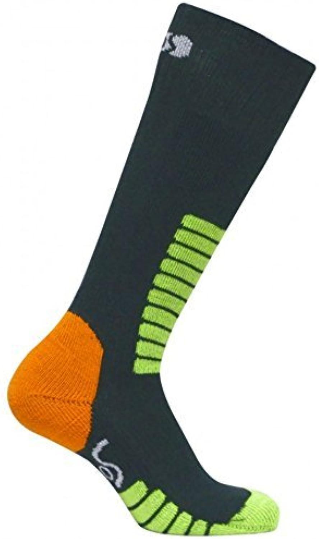 Eurosocks Junior Ski Supreme Socks, Anthracite, XXSmall by Eurosocks