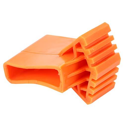 YARNOW 4 Piezas Pies de Escalera de Goma Antideslizante Cubierta de La Pierna de La Escalera Escalera Antideslizante Cojín del Piso de La Pierna Partes 8. 5X6cm