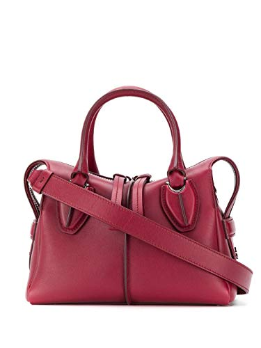 Luxury Fashion | Tod's Dames XBWANYH0100XPAR600 Fuchsia Leer Handtassen | Herfst-winter 19