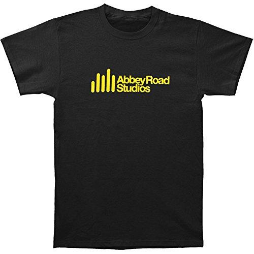Abbey Road Studios Main Logo T-Shirt, Noir, XXXX-Large Homme