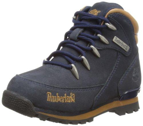 Timberland Ek Euro Rock Hiker, Botas Niños, Azul (Navy/Brown), 30