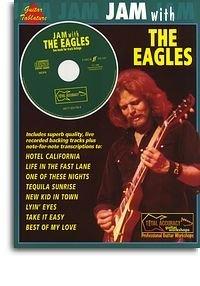 Alfred 12-0571531784 Jam con Eagles (Guitar TAB / CD) - Music Book