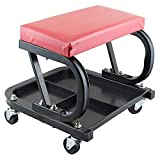 Charvi Enterprise Car Repair Adjustable Creeper Seat Use for Stool Chair Repair Tools