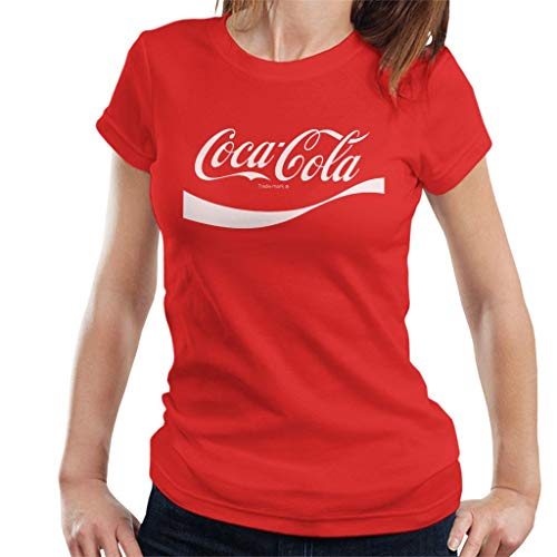 Coca-Cola 1941 Swoosh Logo Women's T-Shirt Red
