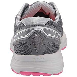 Saucony Women's Grid Seeker-w Running Shoe, Grey/Pink, 7.5 M US