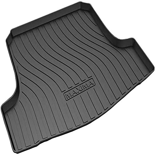 Coche Goma Alfombrillas para maletero, para Nissan Maxima 2016-2020 Antideslizante Tapete La Bandeja del Piso Boot Liner Mat Accesorios De Interior