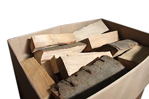 Buchenholz 30 kg Kaminofen Brennholz aus deutscher Herkunft Kaminholz 25 cm Scheitlänge