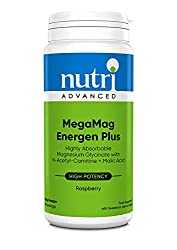 High strength magnesium beverage, with N-acetyl-carnitine, malic acid, together with B vitamins and vitamin C. Features N-acetyl-carnitine, and malic acid, an intermediate in the citric acid cycle. Features 10mg zinc per serving. Easily tolerated mag...