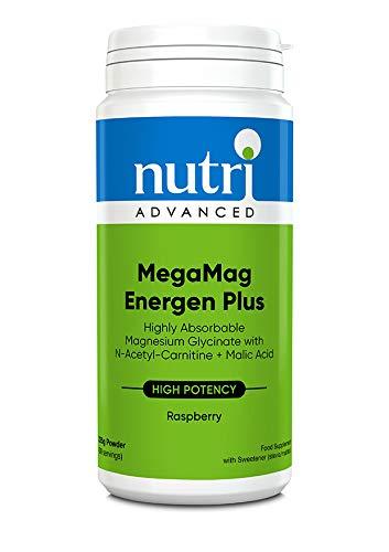 Nutri Advanced MegaMag Energen Plus (Raspberry) 225g (30 Servings)