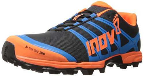 Inov-8 X-Talon™ 200-U Trail Runner, Grey/Orange/Blue, 11.5 M US
