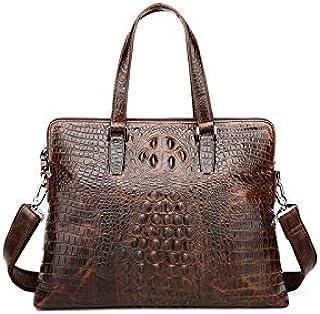 حقيبة ظهر جلدية للرجال من Chliuchihjklstb، حقيبة كتف للرجال حقيبة وثائق حقيبة يد