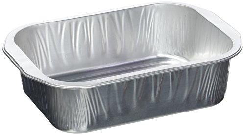 Optimale aluminium bakplaat met drievoudige sterkte, voor 2 porties – 3 stuks.