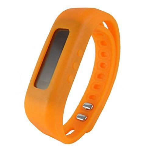Supersonic - Bluetooth Smart Wristband Fitness Tracker, Fitness Bands - Orange (SC-62W)