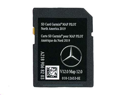 New SD Card Garmin Map Pilot V12 2019 Mercedes-Benz Navigation Part A2189068203