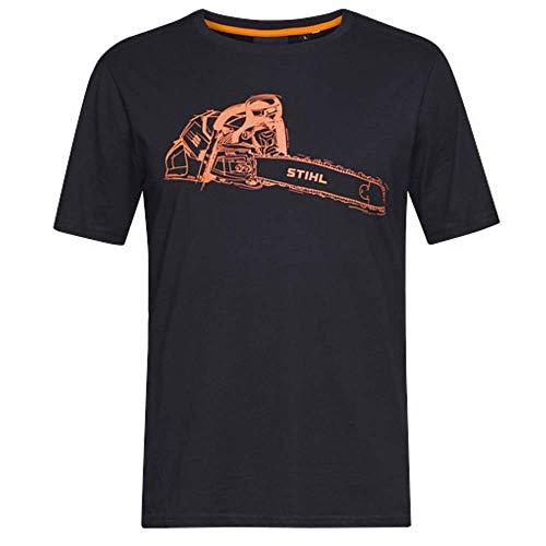Stihl MS 500i - Camiseta Negro XXL