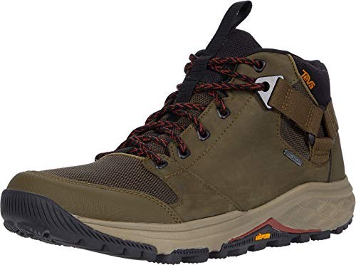 Teva Herren Grandview GTX Combat Boots, Grün (Dark Olive Dol), 45.5 EU
