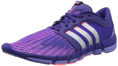 adidas adipure Motion W Q20107, Damen Laufschuhe, Violett (Collegiate Purple / Metallic Silver / Joy Purple S13), EU 40 (UK 6.5)