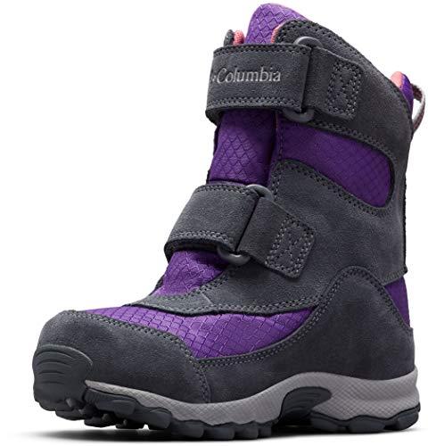 Columbia Unisex-Kinder Parkers Peak Boot Schneestiefel, Violett (Emperor, Wild S 512), 31 EU