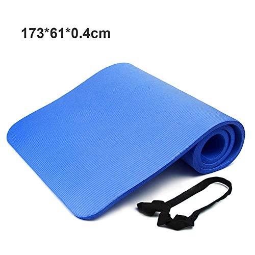 Xi-lin ZYXYBF 1pcs 173 * 60 cm 4 mm Antideslizante Yoga Alfombrillas de Fitness Plegable Aptitud Ambiental Gimnasio EVA Pads Ejercicio (Color : Color 1)