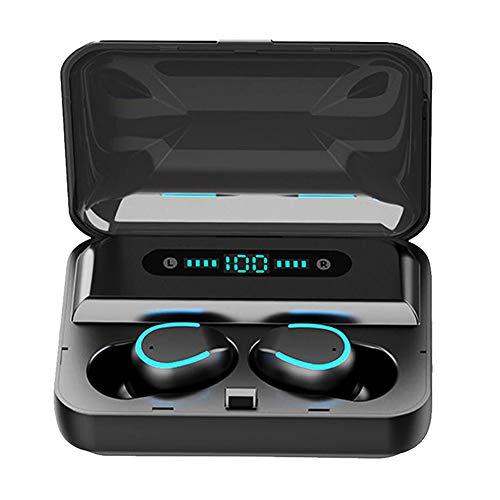 LiveRowing Cuffie Bluetooth 5.0 Senza Fili, 40 Ore di Riproduzione Hi-Fi Stereo Sound in Ear Wireless Sport Cuffie IPX7 Impermeabili, Microfoni Integrati, Controllo Pulsante per iPhone Samsung Huawei