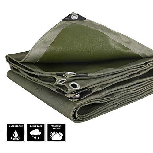 LXXTI Heavy Duty Tarps, 6.5ft*6.5ft-13ft*20ft Heavy Duty Tarpaulin Cover Voor Auto Boot Camping 600g/m2 Buiten Tuinmeubelen, Weerbestendig