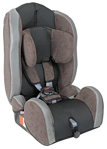 UNITED-KIDS Autokindersitz Kid Comfort Gruppe I/II/III 9-36 kg Braun Grau