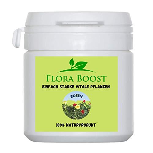 Flora Boost Rosen Dünger Pulver - Bessere Blütenbildung bei Rosen - Weniger Befall durch Stärkung der Rosen Pflanze3