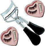 Elecsera Combo of Eyelash Curler and False Eyelashes (Pack of 2)