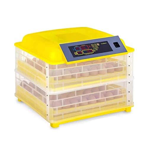 Incubadora de Huevos Automática 112 Huevos Máquina Totalmente Digital de incubadora de Aves de Corral con Giro de Huevos Control de Humedad Incubadora Clara para Pollos Patos Ganso Codorniz Ga