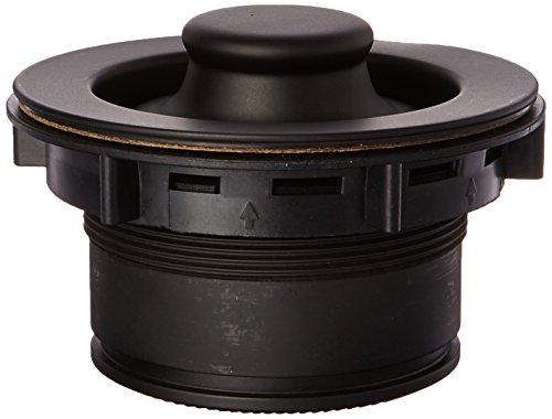 Mr Scrappy CSFSBK93 Custom Color Sink Flange and Stopper Set Black