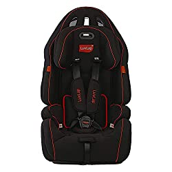 LuvLap Premier Car Seat for Baby & Kids from 9 Months to 12 Years (Black),Luvlap