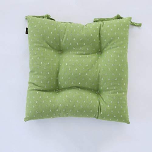 HEWEI Tatami kussen voor eetkamerstoel, kussen voor kussen, kussen voor zitkussen voor stoffen stoel, bureaustoel, kantoorkussen met touw G_40x40cm 40x40cm B
