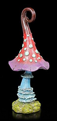 Fantasy Statue de jardin champignon mystique   Forêt enchantée Décoration de jardin Figurine magique