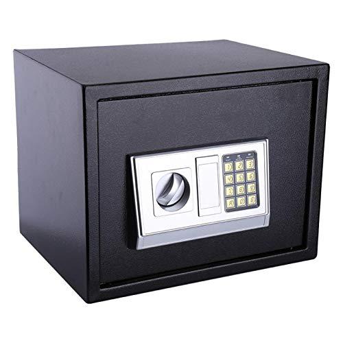 Pwshymi Cerradura de Seguridad Caja de Almacenamiento de Caja Fuerte Digital Protección con contraseña de Seguridad Caja Fuerte de contraseña electrónica Grande, para Proteger la información