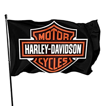 Harley Davidson Flag 3x5 FT Outdoor -Camping Flag Decorations Party Supplies,Flags for Home House Outdoor Indoor Decor
