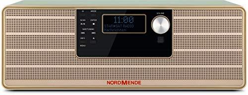 Nordmende Transita 320 78-3011-02 - Microsistema stereo di alta qualità con lettore CD, Bluetooth, DAB+ e ricezione FM, colore: Verde