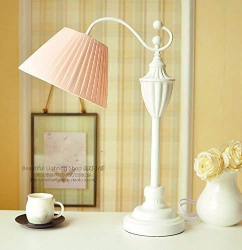 Family Utility Tischlampe-Schlafzimmer Kopflampe Continental Mix Frische Nordische Literatur und Art-Deco-Lampen, Meat Powder, T-D, Fleischpulver