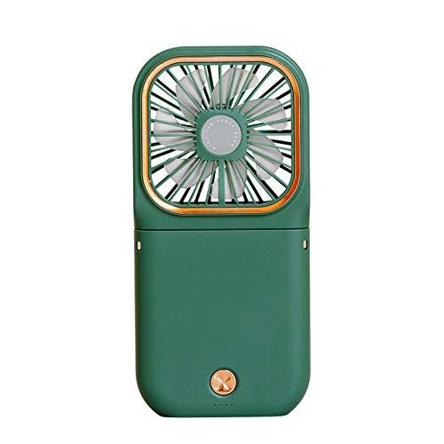 AIHOME Mini ventilador de escritorio portátil, ventilador de carga USB portátil para viajes/deportes/oficina y al aire libre