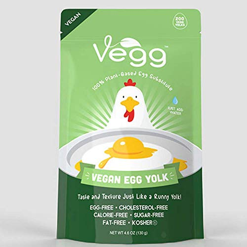 VEGG VEGAN EGG YOLK | Gluten-Free, Vegan Plant Based Egg Yolk Substitute | 4.6 oz
