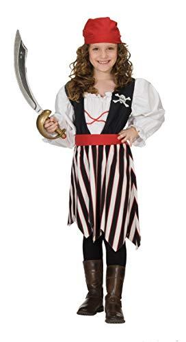 Forever Young - Disfraz de pirata para niñas