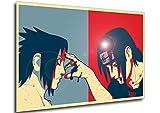 Instabuy Poster - Propaganda Full - Naruto - Sasuke &