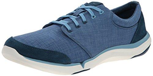 Teva Women's W Wander Canvas Lace Up Sneaker, Legion Blue, 6.5 M US