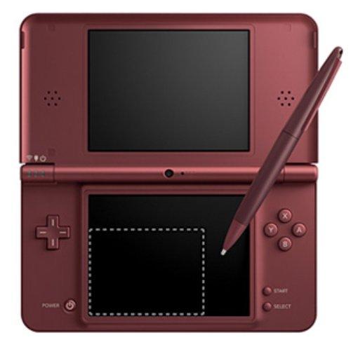 Nintendo DSi XL Handheld Console (Wine Red) [Importación inglesa]