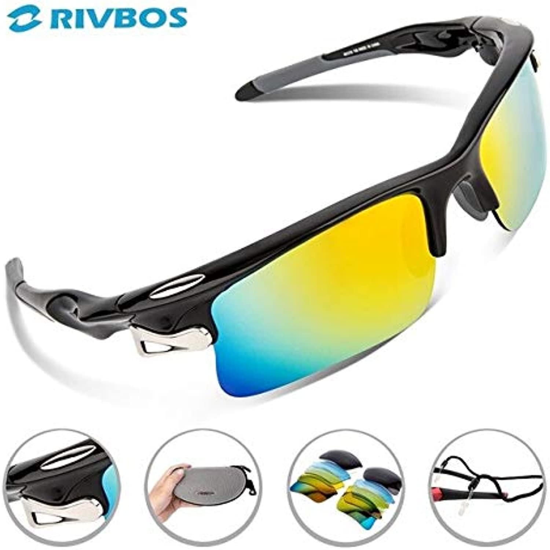 Black   RIVBOS Oculos Ciclismo Cycling Glasses Men Gafas Ciclismo Bicycle Bike Sports Cycling Sunglasses Eyewear RB0308