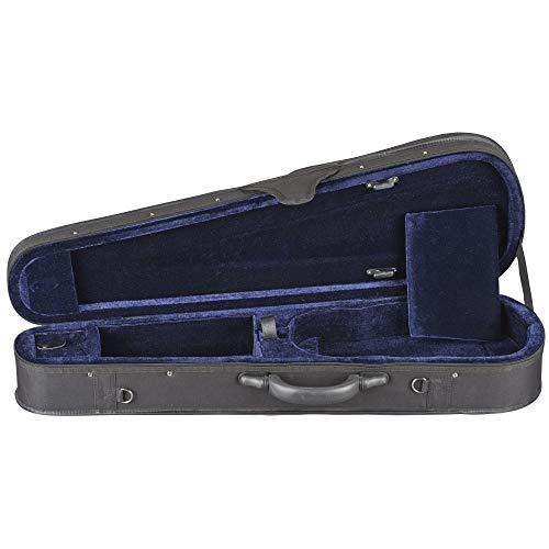 Toshira Shaped Violin Case Black Blue 4/4 Size