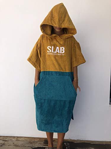 Slab-Poncho Toalla Mustard Talla M/L