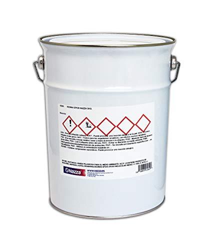 Resina Epoxi Transparente para Manualidades, Oclusiones y Encapsulados | Extraordinaria Resistencia y Dureza | 5 KG.