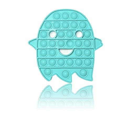PIANETA Pop it Push it Fidget Toy, pop Bubble, endspannentes Anti Stress Spielzeug Sensorisches Spielzeug Autismus lindert Angstzustände. Für Kinder und Erwachsene (Geist)
