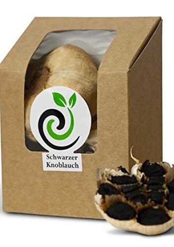 efinya-gourmet Schwarzer Knoblauch aus Spanien 100gr.   2 große Knollen fermentiert   Superfood   100% Natürlich   Antioxidant   ajo negro   black garlic