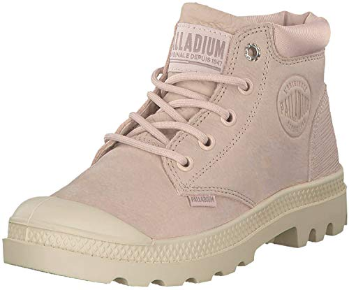 Palladium Damen Pampa Lo Cuff Lea Stiefeletten, Pink (Rose Dust/Sand Dollar R12), 39 EU